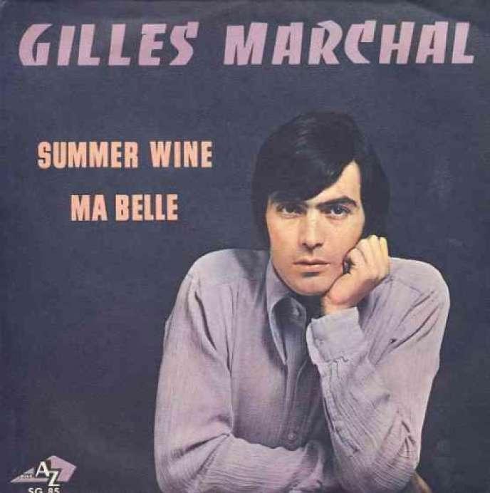 Pochette d'un des albums de Gilles Marchal.