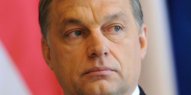 Viktor Orban, premier ministre hongrois, en mars 2013.