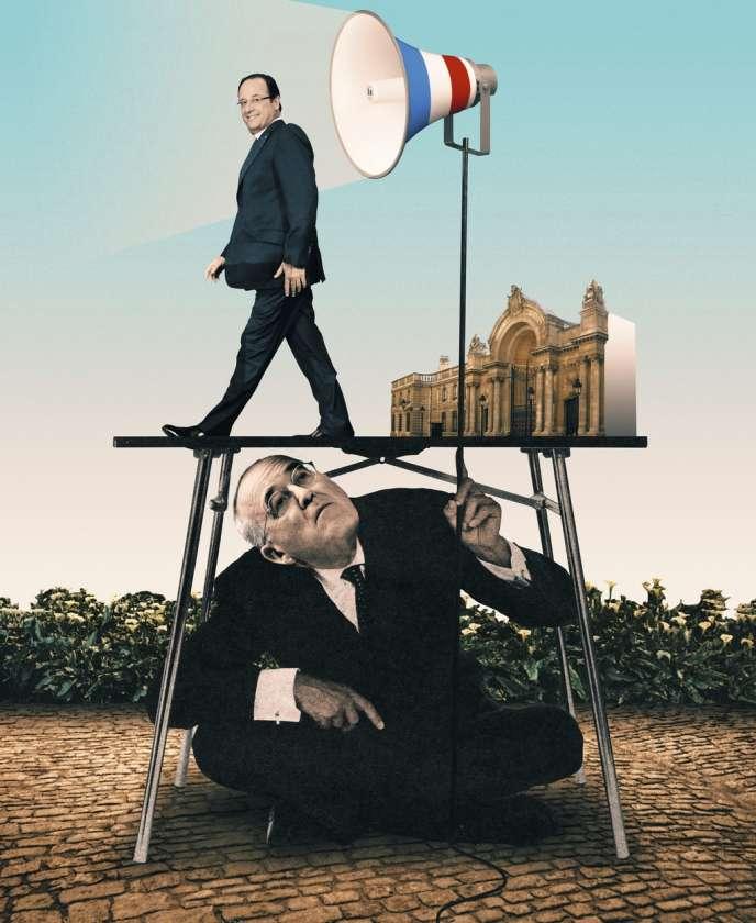Depuis le début du quinquennat, ce proche de François Hollande réunit à déjeuner élus de terrain et membres de la société civile.