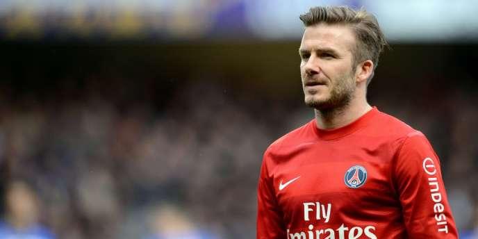 David Beckham, le 13 avril à Troyes.