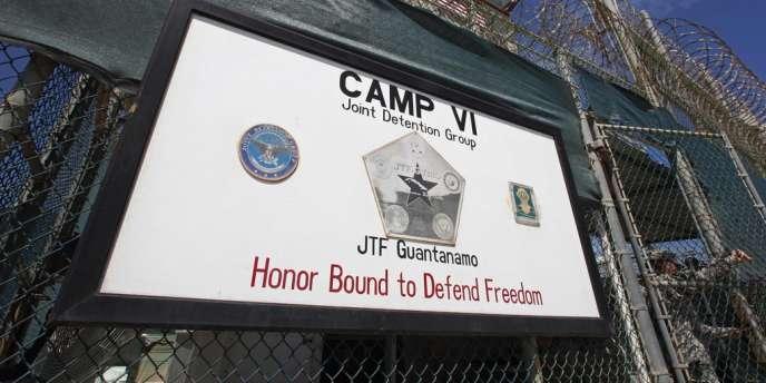 L'entrée du camp VI de la prison de Guantanamo, le 5 mars.