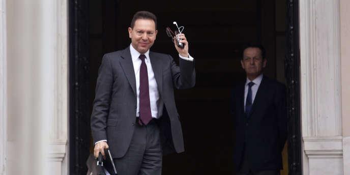 Le ministre grec des finances Yannis Stournaras,  a assuré qu'Athènes « préparait son retour sur les marchés financiers » pour la mi-2014.