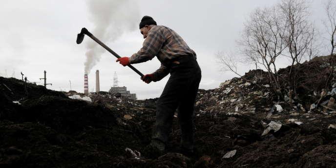 Près de la centrale thermique d'Obilic, à sept kilomètres environ de la capitale Pristina, au Kosovo.