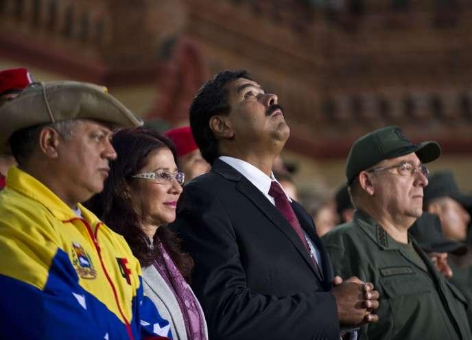 Nicolas Maduro a participé samedi à une journée de commémoration du coup d'Etat contre Hugo Chavez, en 2002.