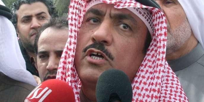 M. Barrak est le premier homme politique à être condamné à la prison ferme dans les affaires de diffamation à l'encontre de l'émir du Koweït.