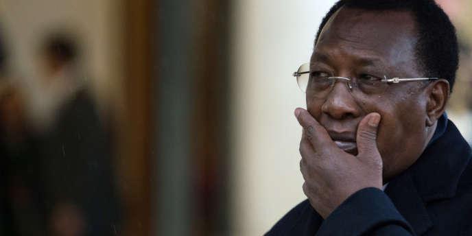 Le président tchadien Idriss Déby à Paris, le 2 décembre 2012.