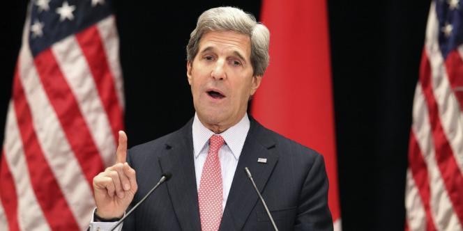 Le secrétaire d'Etat américain John Kerry à Tokyo, le 15 avril.