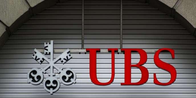 La banque suisse UBS à Zürich.