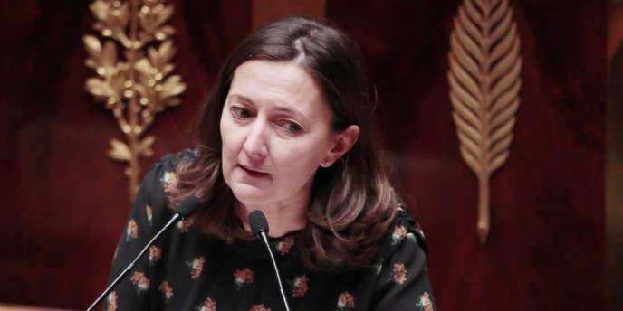 Karine Berger, à l'Assemblée nationale le 12 février.