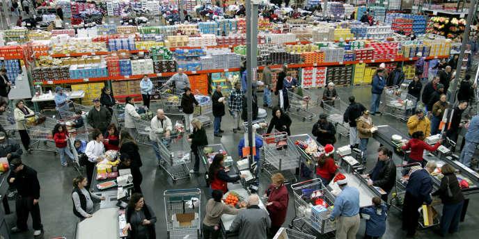Le spécialiste américain du supermarché-entrepôt de gros pour les particuliers vise l'installation en France d'une quinzaine de magasins d'ici à dix à quinze ans. Ici, dans le New Jersey.
