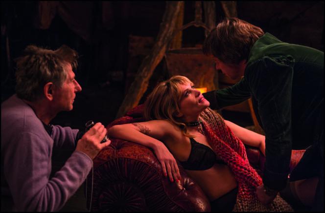 Roman Polanski et Emmanuelle Seigner sur le tournage de