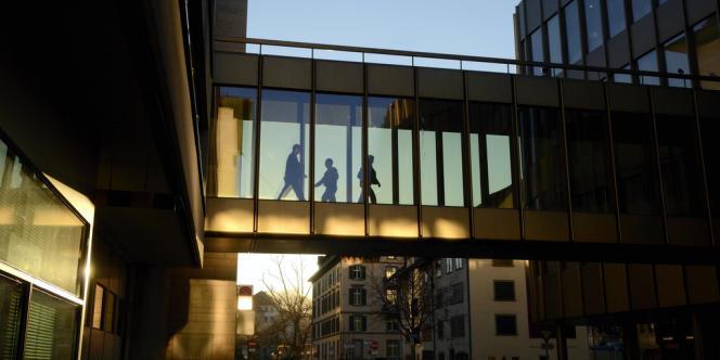UBS à Zürich.