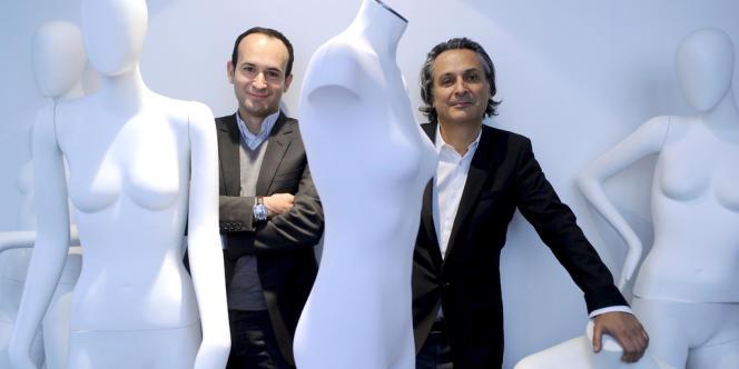 Frederic Biousse, directeur général de la SMCP, et Elie Kouby (à droite), un des autres dirigeants.