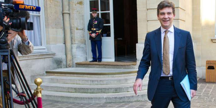 Le ministre Arnaud Montebourg.