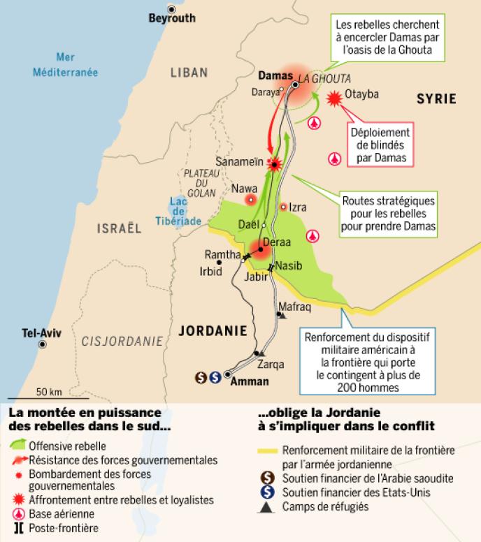 La rébellion syrienne