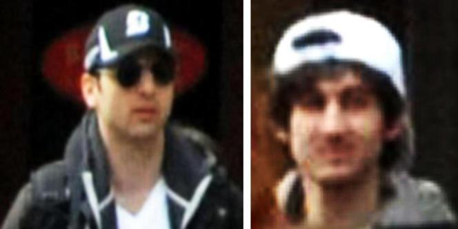 Les deux suspects des attentats de Boston, originaires de Tchétchénie, surnommés avant leur identification