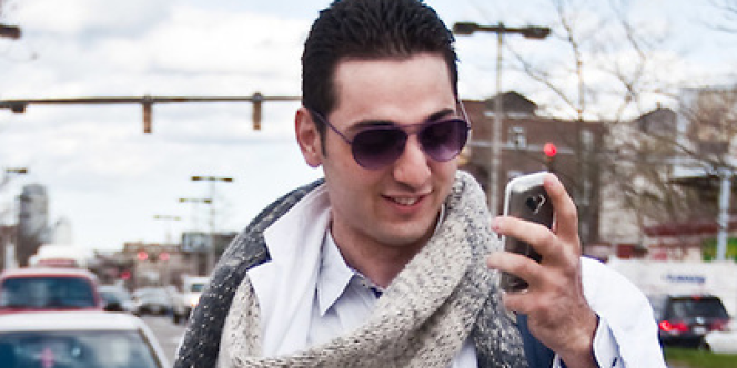 Photo de Tamerlan Tsarnaev, dans un reportage photo sur sa pratique de la boxe.