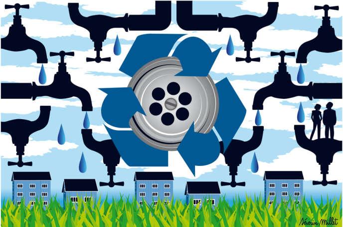 A Rennes, une écocité en construction prévoit de réutiliser les effluents domestiques pour réduire sa consommation de 40 %.