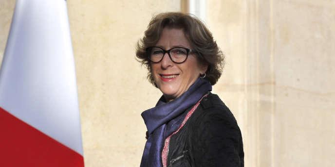 Geneviève Fioraso, à l'Elysée le 19avril2013.