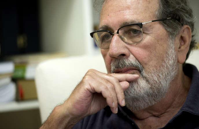 Le réalisateur brésilien Carlos Diegues à Rio de Janeiro, le 14 mai 2012.