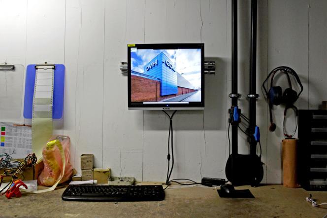 Atelier de maintenance, dans le data-center de