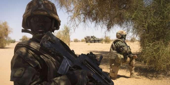 Un peu moins de quatre mois après le début de l'intervention militaire, le gouvernement a formellement demandé l'autorisation de la prolonger.