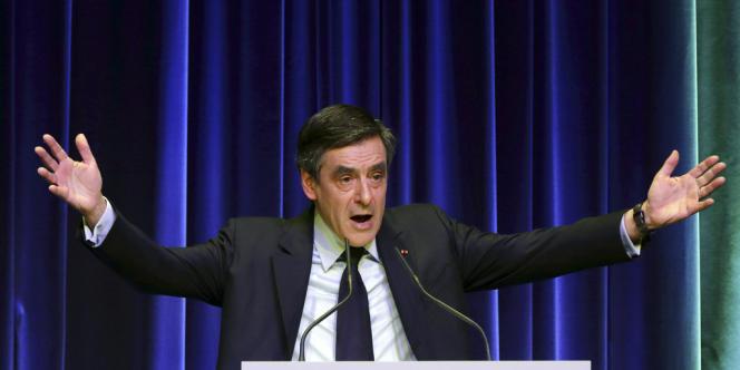 François Fillon, le 26 février à Paris.