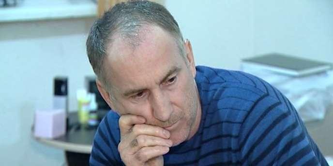 Anzor Tsarnaev, le père des principaux suspects du double attentat de Boston, le 19 avril, à Makhatchkala, la capitale du Daghestan.