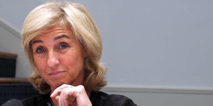 Isabelle Falque-Pierrotin, présidente de la CNIL, en octobre 2012.