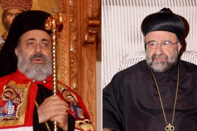 Boulos Yaziji, à gauche, et Yohanna Ibrahim, ont été enlevés lundi 22 avril 2013 par