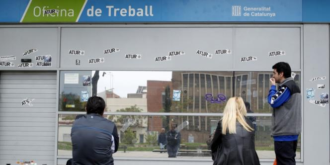 Au premier trimestre, plus de 184 000 emplois ont encore été détruits en Espagne, selon les chiffres publiés le 30 avril par l'Institut national de statistiques.