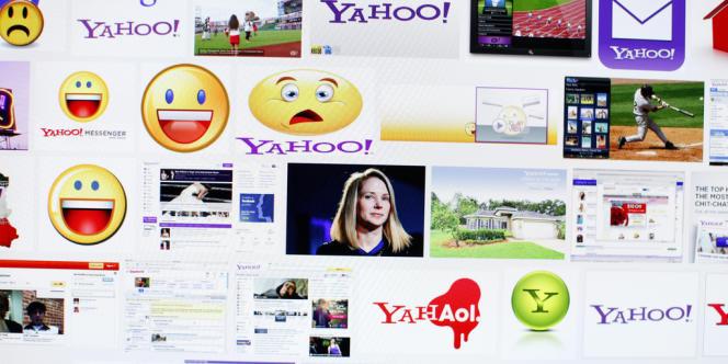 Orange-France Télécom a renoncé à céder l'intégralité de Dailymotion au géant américain Yahoo ! Au centre de l'image, Marissa Mayer, PDG du portail américain.