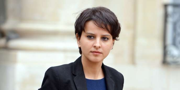 La ministre des droits des femmes et porte-parole du gouvernement, Najat Vallaud-Belkacem, le 10avril2013 à Paris.