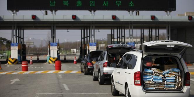 Pyongyang refuse aux Sud-Coréens l'entrée vers le complexe de Kaesong.