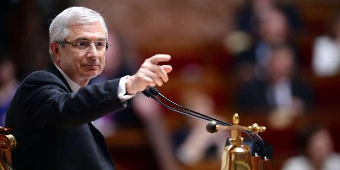 Claude Bartolone, le 23 avril à l'Assemblée nationale.