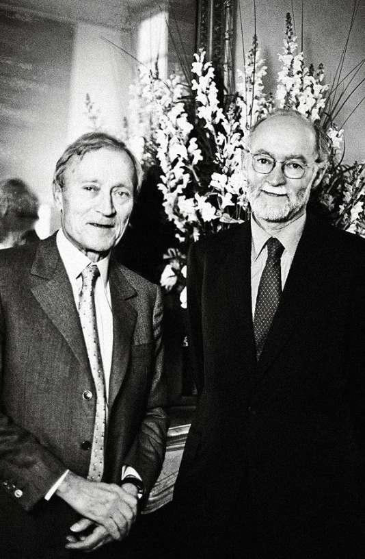 Jérôme et Nicolas Seydoux en 2000.