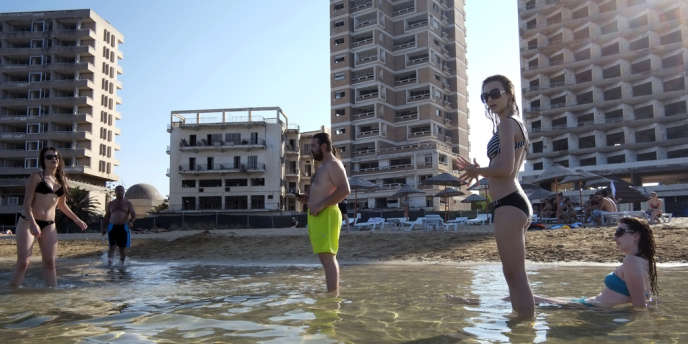 Le quartier balnéaire de Varosha, à Famagouste, devenue une ville fantôme.