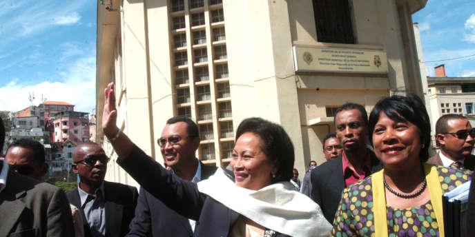 Parmi les candidats à la présidentielle malgache du 24 juillet 2013, l'épouse du président renversé Marc Ravalomanana, Lalao Ravalomanana.