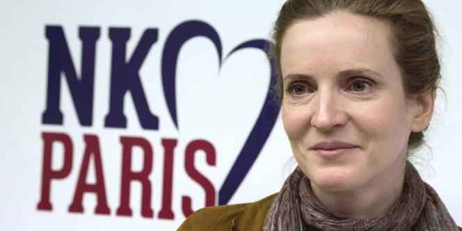 Nathalie Kosciusko-Morizet, favorite de la primaire à droite de l'UMP pour les municipales de Paris, le 22 avril.