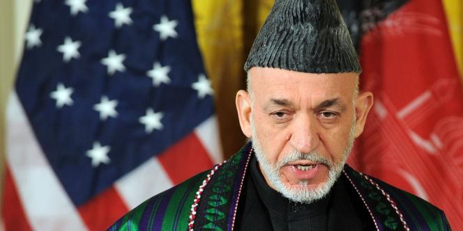 Le président afghan Hamid Karzaï, le 11 janvier 2013.