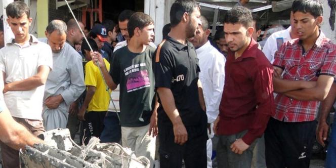Deux personnes ont été tuées et 20 autres blessées à Diwaniya, à 160 km au sud de la capitale.