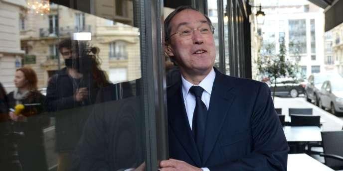 Claude Guéant, lors d'une réunion des Amis de Nicolas Sarkozy, à Paris, le 10 avril.