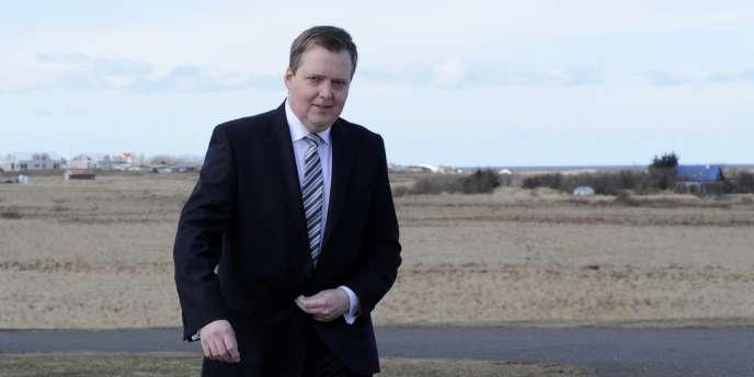 Sigmundur David Gunnlaugsson, le premier ministre islandais, le 29 avril 2013.