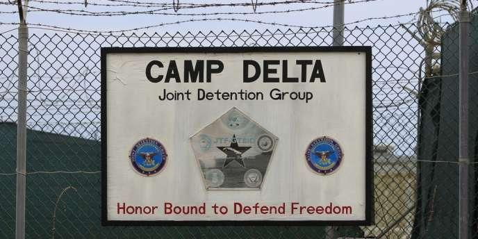 Extérieur du camp Delta, sur la base navale de Guantanamo, le 6 mars.