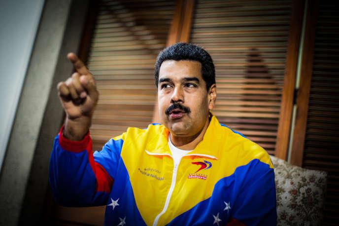 Nicolas Maduro, président du Venezuela, interviewé par