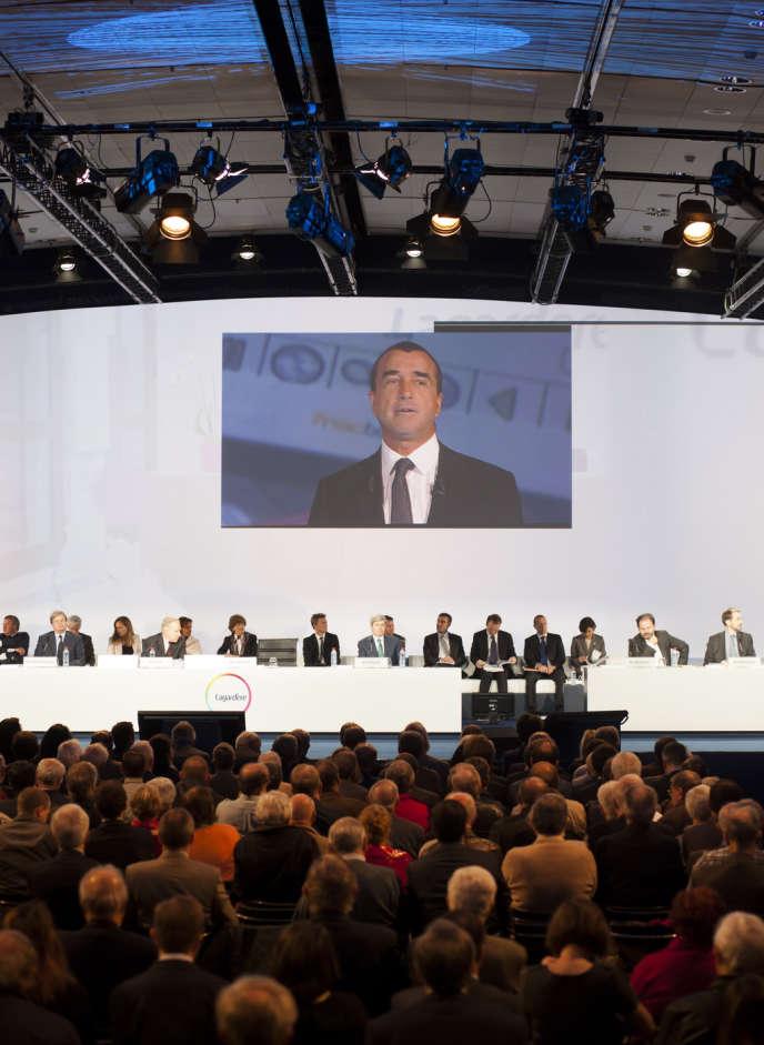 Arnaud Lagardère, PDG groupe Lagardere. Lagardère Unlimited, bâtie grâce à un investissement supérieur au milliard d'euros, est la quatrième activité du groupe après les médias, l'édition et les services.