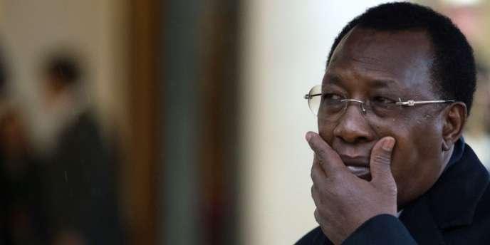 Le président tchadien, Idriss Déby, le 5 décembre à Paris.