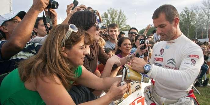 Sébastien Loeb, le 1er mai à Villa Carlos Paz.