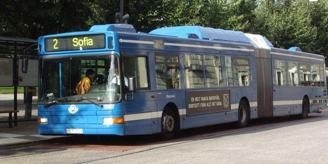 Les bus urbains de Stockholm est géré par le français Transdev.