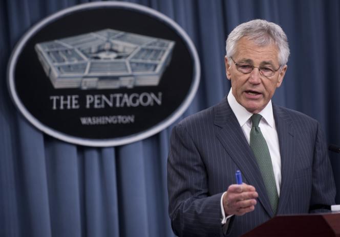 Le secrétaire américain à la défense Chuck Hagel, à Washington, le 2 mai.